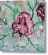 Rose Garden  Metal Print by Kiara Reynolds