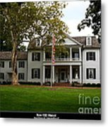 Rose Hill Manor Metal Print