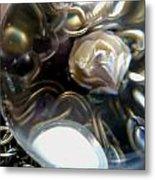 Rose In Glass Metal Print by Jaime Neo