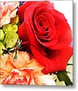 Rose Is A Rose Metal Print