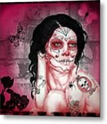 Rose Madder Metal Print by Diana Shively