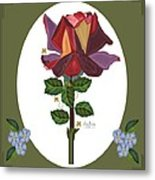 Rose of a Different Color Metal Print