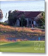Rose Shack At 17 - Chambers Bay Golf Course Metal Print