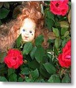 Rosebud Joy Metal Print