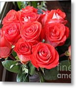 Roses For Mother Metal Print