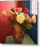 Roses For Sandra Metal Print
