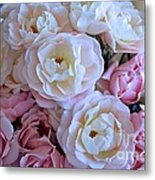Roses On The Veranda Metal Print