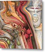 Rosh Hashanah Meditation Metal Print