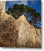 Ross Creek Cliffs Metal Print