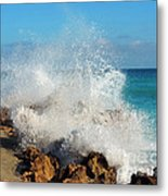 Ross Witham Beach 2 Metal Print