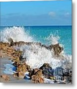 Ross Witham Beach 3 Metal Print