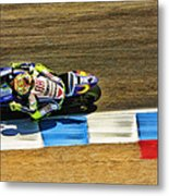 Rossi From Above Metal Print
