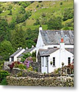 Rosthwaite In The Valley Of Borrowdale Lake District Metal Print