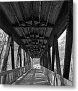 Roswell Bridge 1 Metal Print