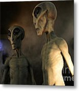 Roswell Visiting Hour Metal Print
