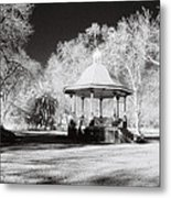 Rotunda Benalla Botanical Gardens Metal Print