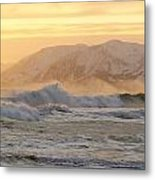 Rough Seas Metal Print by Tim Grams