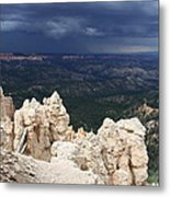 Rough Skys Over Bryce Canyon Metal Print