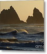 Rough Surf Metal Print