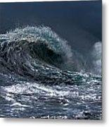 Rough Wave Metal Print
