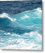 Rough Waves 1 Offshore Metal Print