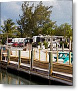 Roughing It In The Keys Metal Print