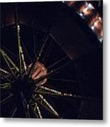 Round And Round Metal Print