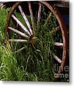 Round And Rusty Metal Print