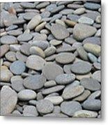 Round Rocks Metal Print