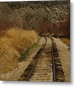 'round The Bend Metal Print