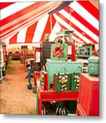 Round Top Texas Under The Big Tent Metal Print