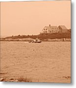 Rounding The Point Metal Print