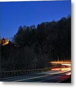 Route 6 Blur Metal Print