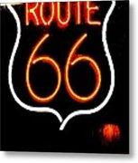 Route 66 2 Metal Print