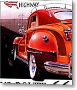Route 66 America's Highway Metal Print