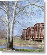 Route 66 Bridge Metal Print