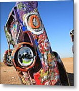 Route 66 Cadillac Ranch Metal Print