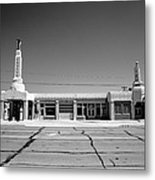 Route 66 - Conoco Tower Station 4 Metal Print