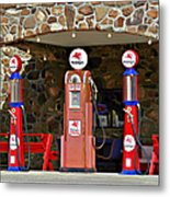 Route 66 - Cool Springs Camp Az Metal Print