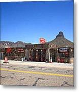 Route 66 - Cool Springs Camp Metal Print
