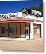 Route 66 - Desoto's Salon Metal Print