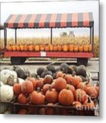 Route 66 Farmstand Metal Print