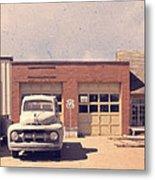 Route 66 Garage Metal Print