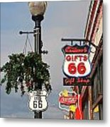 Route 66 In Williams Arizona Metal Print