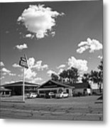 Route 66 - Midpoint Cafe Adrian Texas Metal Print