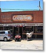 Route 66 - Oatman General Store Metal Print