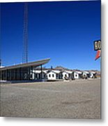 Route 66 - Roy's Cafe Metal Print