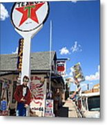 Route 66 - Seligman Arizona Metal Print