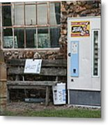 Route 66 Sinclair Gas Station Metal Print