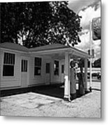 Route 66 - Soulsby Service Station Metal Print